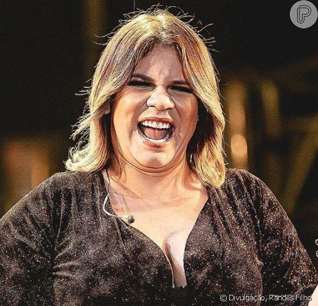 Marília Mendonça ganha carinho de Maiara e Maraisa na barriga em vídeo nesta quinta-feira, dia 26 de setembro de 2019