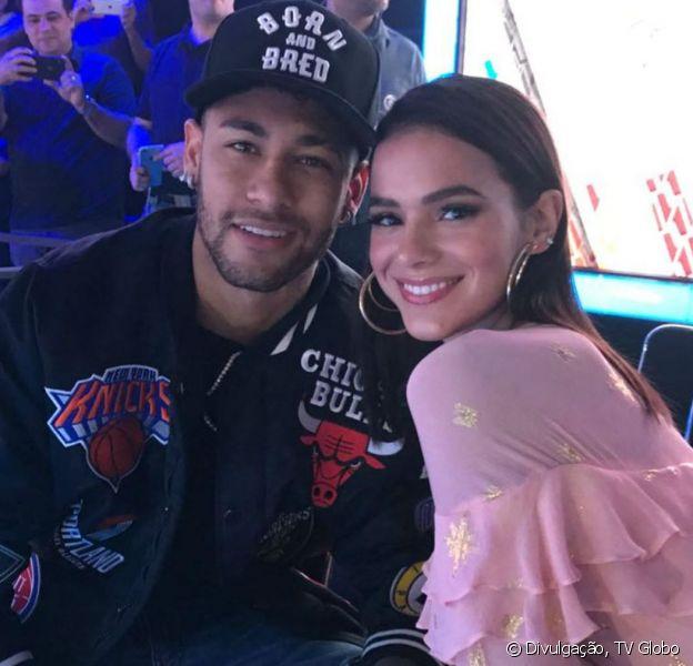 Bruna Marquezine citou o ex-namorado Neymar em uma brincadeira e agitou a web