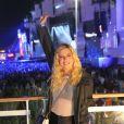 Giovanna Lancellotti marcou presença na 2ª noite de Rock in Rio