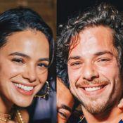 Bruna Marquezine define status após beijo em Gian Luca Ewbank no RIR: 'Solteira'