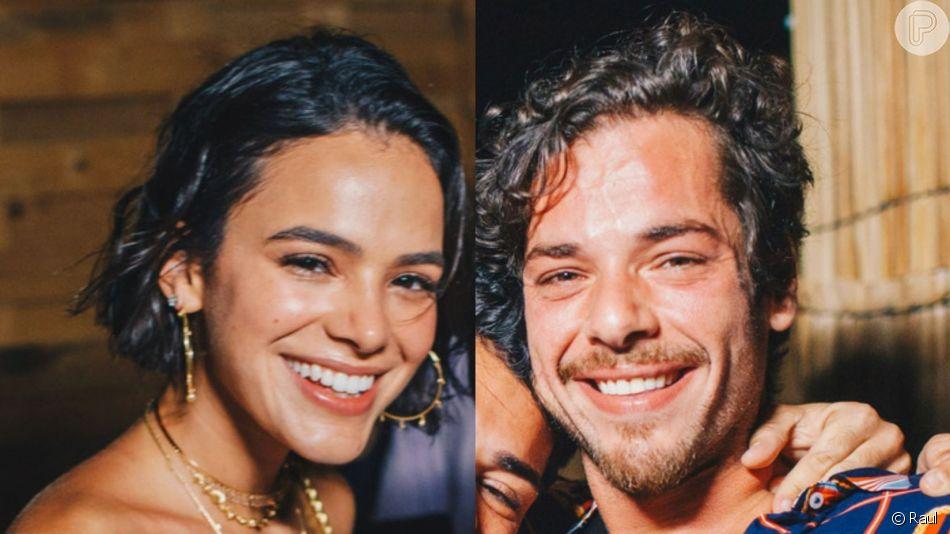 Bruna Marquezine comentou troca de beijo em Gian Luca Ewbank no Rock in Rio para a revista 'Quem': 'Solteira'