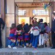 As crianças voltam às aulas na escola Ruth Goulart na novela 'As Aventuras de Poliana'