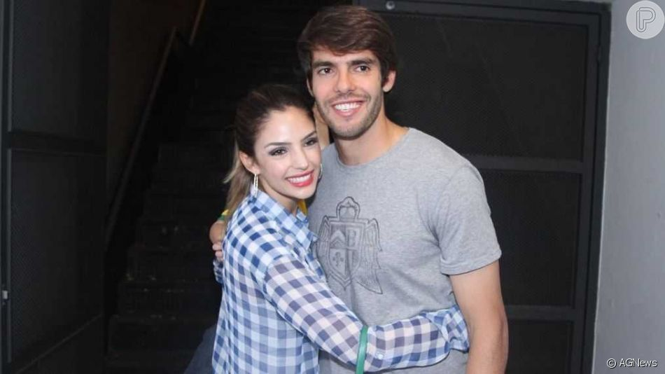 Kaká se irrita com rumor de reconciliação com a ex-mulher, Carol Celico: 'Fake news'