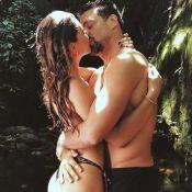 Cauã Reymond e Mariana Goldfarb namoram em cachoeira: 'Natureza é só amor'