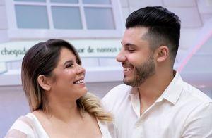 Marília Mendonça exalta namorado em aniversário: 'Me deu colo, amor, um filho'