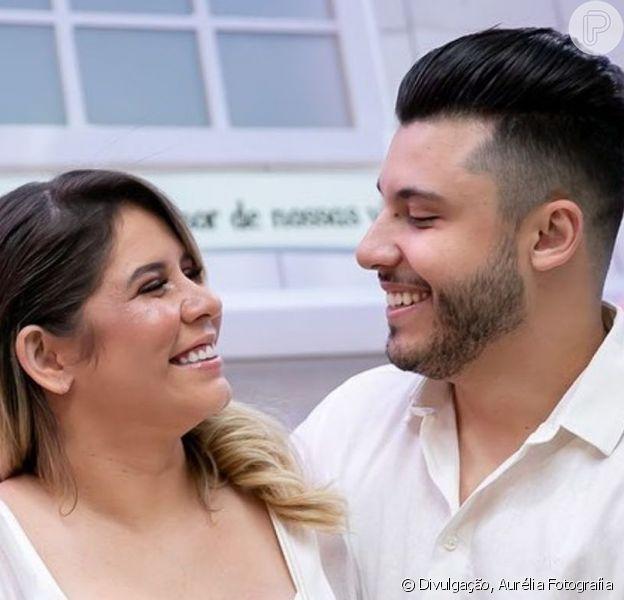 Namorado de Marília Mendonça, Murilo Huff ganhou declaração de amor da sertaneja ao fazer aniversário nesta segunda-feira, 14 de outubro de 2019
