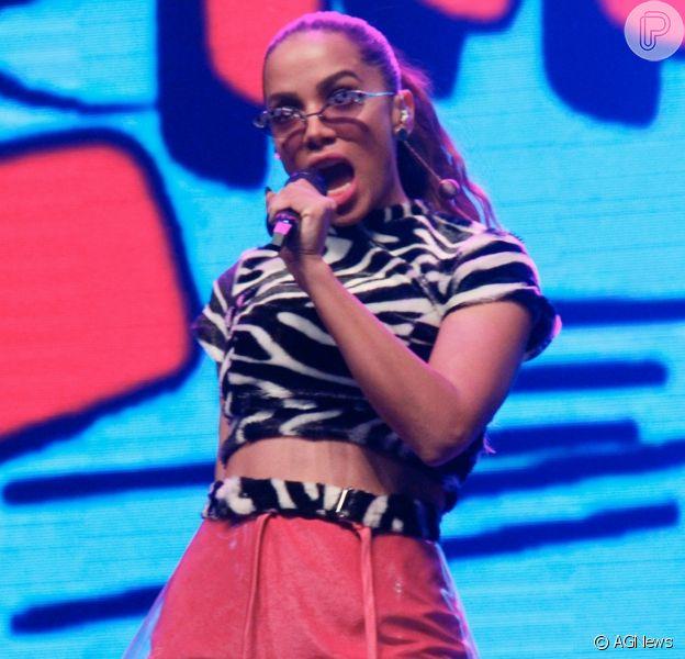 Anitta fez a alegria das crianças com o Show das Poderosinhas no Rio de Janeiro neste sábado, 19 de outubro de 2019