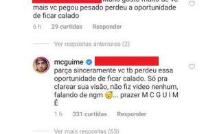 Guimê é confundido com MC Gui e sofre críticas após vídeo polêmico: 'Não fui eu'