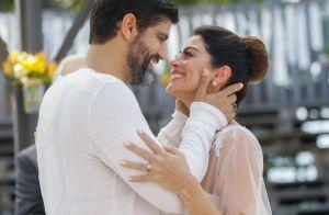 Carol Castro evita rotular relação com Bruno Cabrerizo pela filha: 'Cautela'
