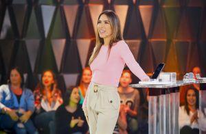 Patricia Abravanel cita mudança nos looks após 3ª gravidez: 'Voltei ao meu peso'