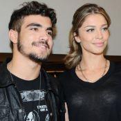 Caio Castro fala sobre Grazi Massafera e Serginho Groisman diz que aprova casal