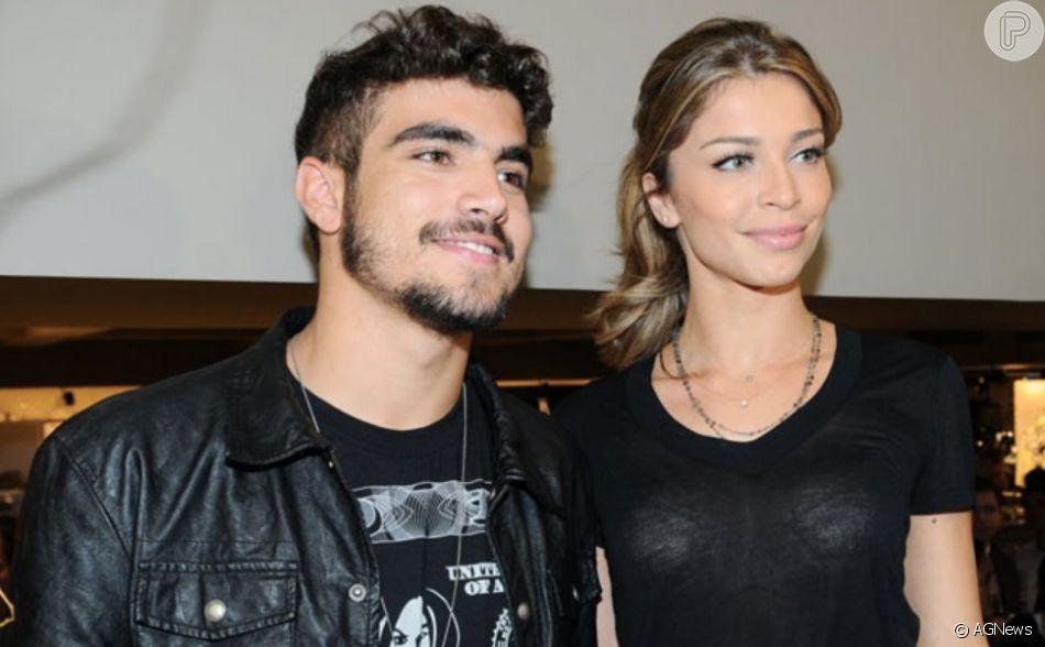 Caio Castro falou sobre Grazi Massafera durante sua participação no programa 'Altas Horas' exibido na madrugada deste domingo, 27 de outubro de 2019