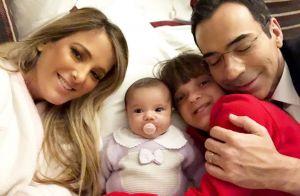 Ticiane Pinheiro mostra nova foto com filha e Xuxa elogia bebê: 'Manu delícia'