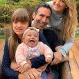 Ticiane Pinheiro encantou os seguidores com foto em família