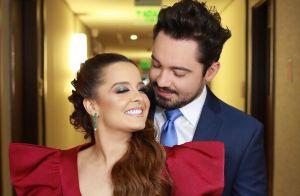 Maiara e Fernando combinam looks em casamento de Zé Neto: 'Para pegar buquê'