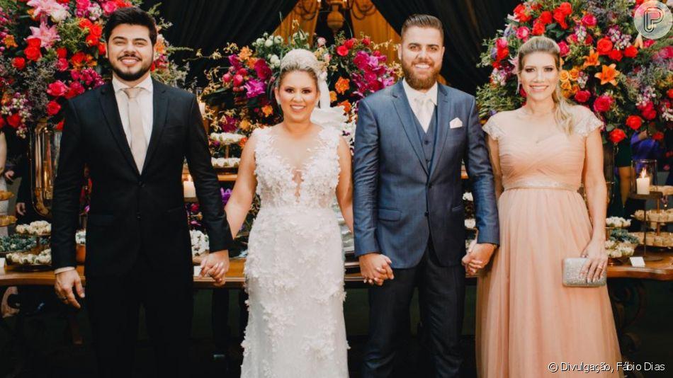 Veja a emoção de Zé Neto, dupla de Cristiano, em casamento no interior de São Paulo nesta terça-feira, dia 05 de novembro de 2019