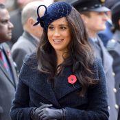 Duquesas vestem azul! Meghan e Kate usam a mesma cor em eventos diferentes