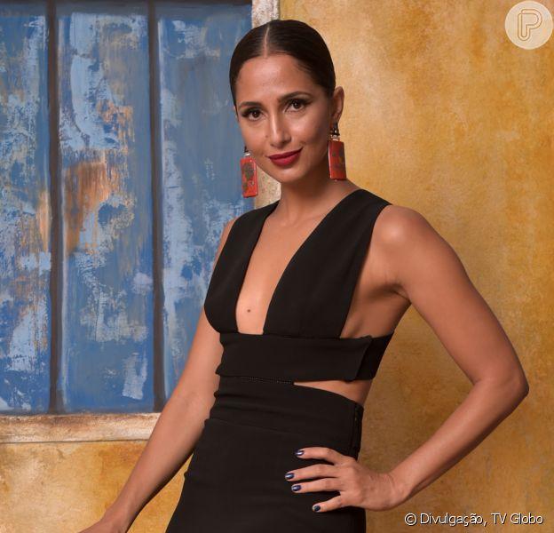 Camila Pitanga assume primeiro namoro com uma mulher