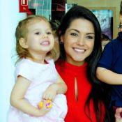 Looks combinados: Thais Fersoza e filha usam roupas com mesma estampa: '1ª vez'