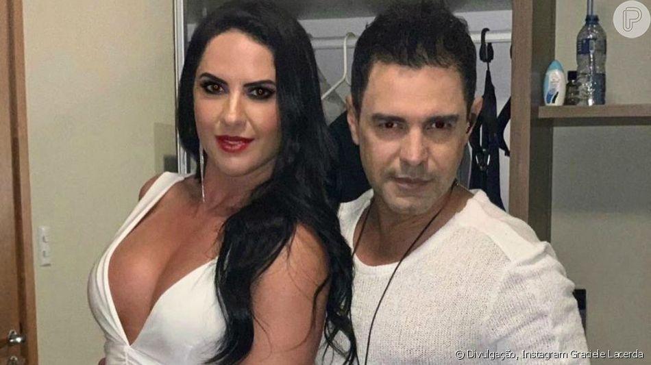 Zezé Di Camargo e Graciele Lacerda já são marido e mulher