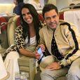 Graciele Lacerda explicou, ainda, que não mudou seu sobrenome ao se casar com Zezé Di Camargo