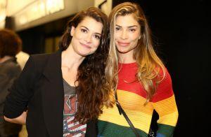 Alinne Moraes reúne famosas e recebe carinho de Grazi Massafera ao estrelar peça