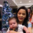 Maraisa, da dupla com Maiara, apareceu com bebê no colo e mandou recado para Marília Mendonça