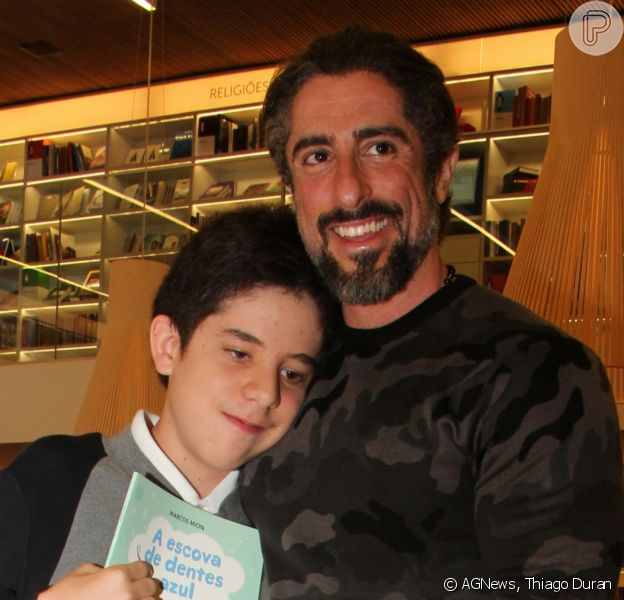 Filho de Marcos Mion emocionou pai em apresentação de dança: 'Trabalho e dedicação'
