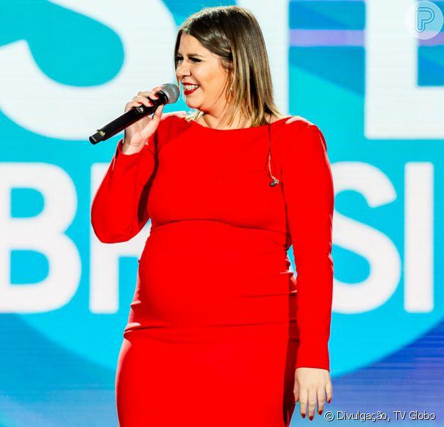 Marília Mendonça negou nascimento do filho, Léo, nesta quinta-feira, 5 de dezembro de 2019