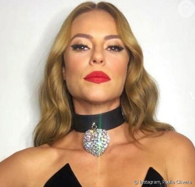 Paolla Oliveira aposta em look com corset e detalhes em cristais em festa de futebol nesta segunda-feira, dia 09 de dezembro de 2019