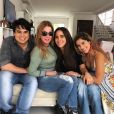 Zezé di Camargo, Zilu Godoi, Wanessa e Camilla Camargo cantam 'Parabéns' em festa de filho de cantora em São Paulo nesta terça-feira, dia 10 de dezembro de 2019