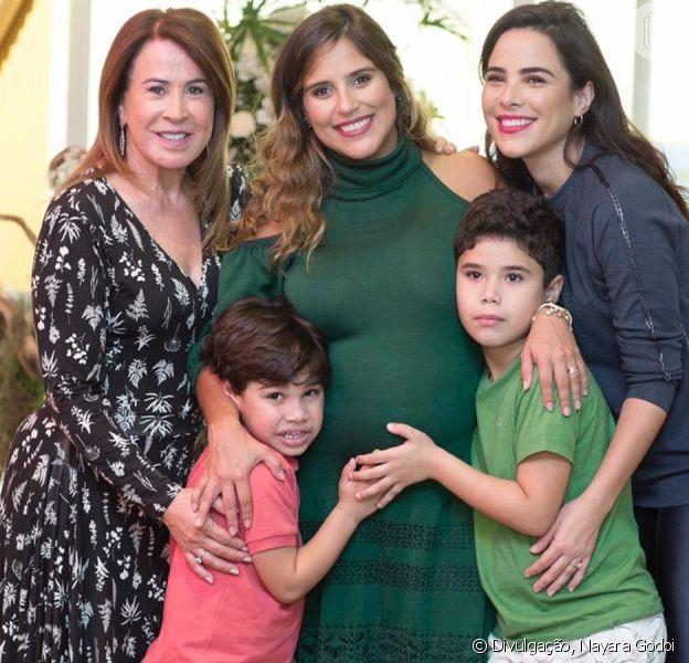 Festa de filho de Wanessa Camargo reúne Zezé di Camargo, Zilu Godoi, Camilla Camargo e Garciele Lacerda em São Paulo nesta terça-feira, dia 10 de dezembro de 2019
