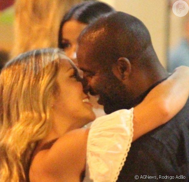 Namorada de Rafael Zulu, Aline Becker se mudou para a casa do ator. Casal está junto há 4 meses