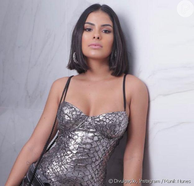Munik Nunes confirma romance com o cantor Felipe Araújo, em 21 de dezembro de 2019