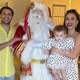 Sabrina Sato e Duda Nagle, pais da pequena Zoe, de 1 ano, pretendem se casar em 2020