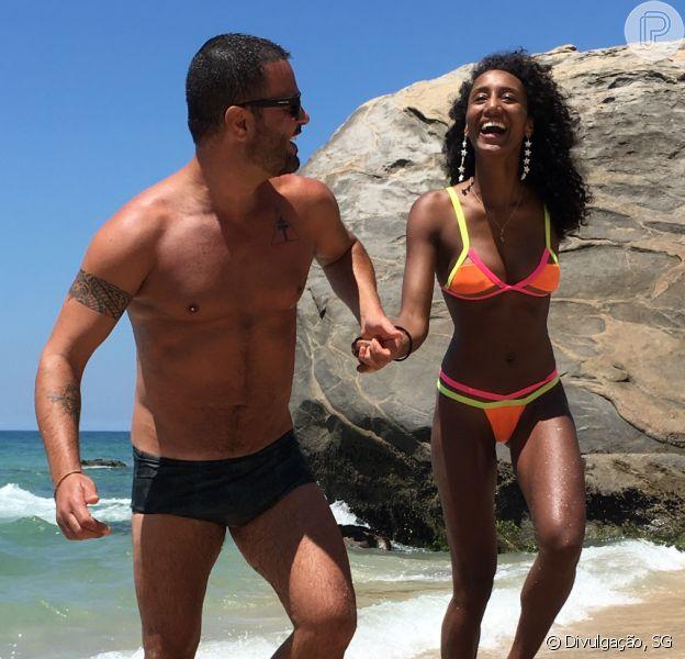 Rodrigo Phavanello e Sabrina Paiva ficam noivos