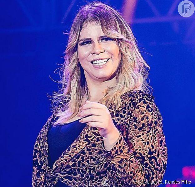 Marília Mendonça inicia dieta 22 após nascimento do filho nesta segunda-feira, dia 06 de janeiro de 2019
