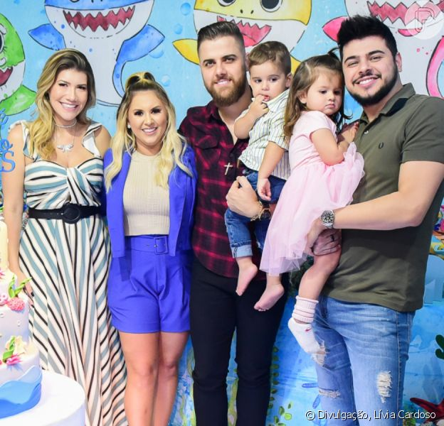 Filhos de Zé Neto e Cristiano esbanjam fofura em aniversário de criança nesta terça-feira, dia 07 de janeiro de 2020