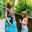Angélica posta foto encantada com a filha, Eva