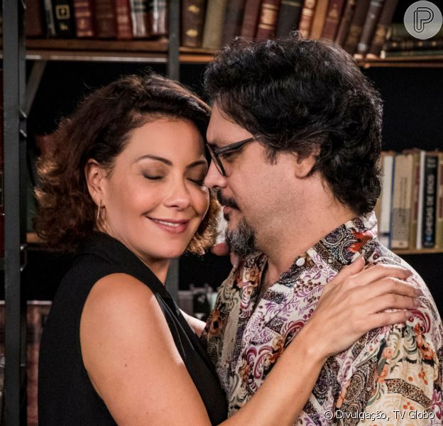 Na reta final da novela 'Bom Sucesso', Nana (Fabiula Nascimento) resolve tentar engravidar de novo de Mário (Lúcio Mauro Filho): 'Quero ter um filho com você'