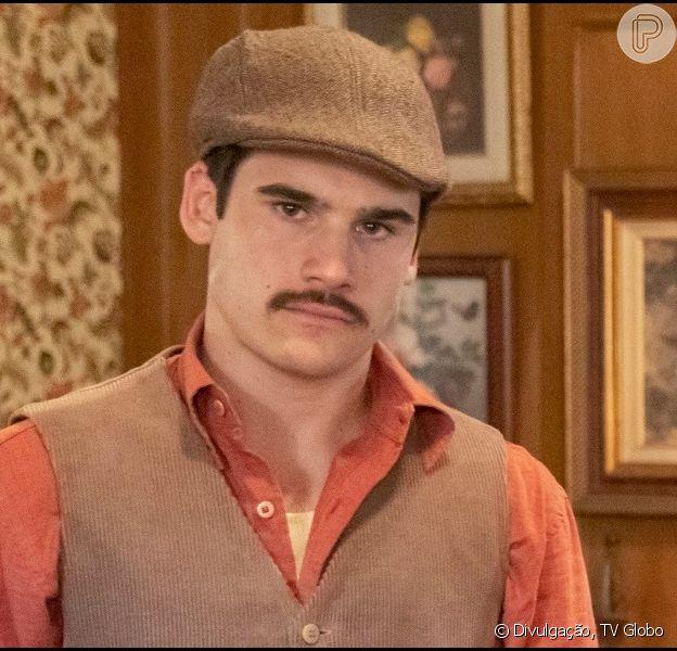 Nos próximos capítulos da novela 'Éramos Seis', Lola (Gloria Pires) castiga o filho Alfredo (Nicolas Prattes) ao descobrir que ele roubou Osório (Nicola Siri)