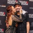 Maiara e Fernando Zor negaram ter se separado: 'A gente não chegou a falar que tinha terminado'