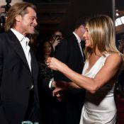 Reencontro de Brad Pitt e Jennifer Aniston em premiação agita a web. Fotos!