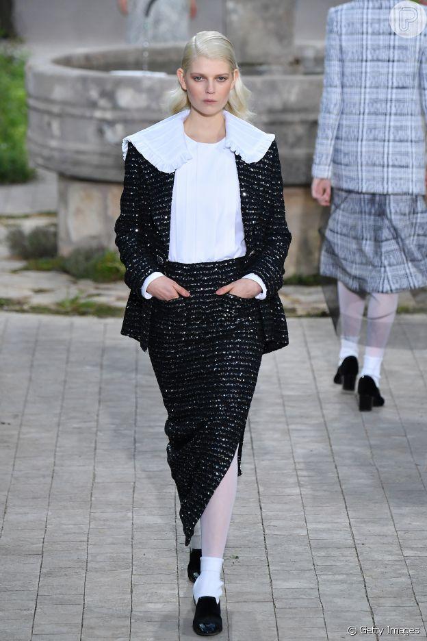 Desfile Chanel de alta-costura: camisaria vai bombar na primaversa/verão 2020 da grife