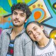 No último capítulo da novela 'Bom Sucesso', Vicente (Gabriel Contente) e Alice (Bruna Inocencio) ficam juntos