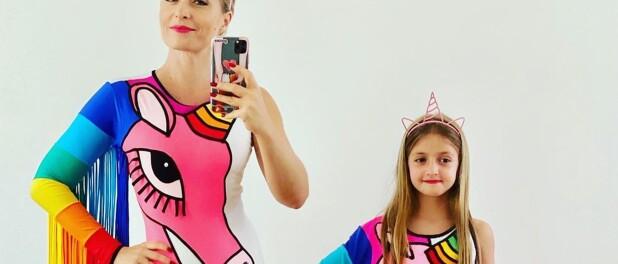 Angélica combina look de Carnaval com Eva e web se derrete: 'Tal mãe, tal filha'