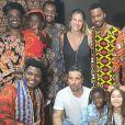 Bruno Gagliasso, acompanhando por Giovanna Ewbank e os filhos, prestigia peça de teatro neste domingo, dia 16 de fevereiro de 2020