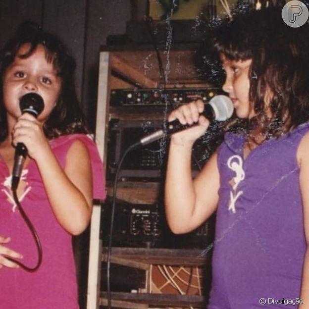 Maiara, da dupla com Maraisa, começou a cantar com 5 anos