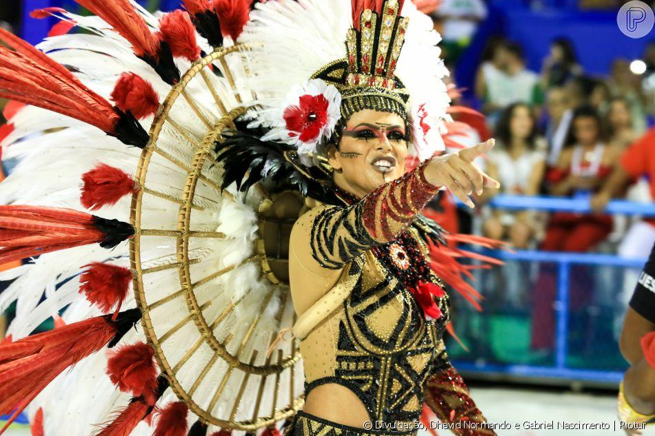 Carnaval 2020: Jack Maia é empresária de 37 anos e pela primeira vez desfila como rainha de bateria da Estácio de Sá
