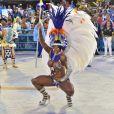 Rainha de Bateria da Portela, Bianca Monteiro desfila na Sapucaí